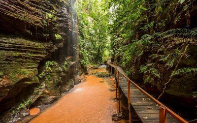 Natureza, Cachoeiras, Paredões E Boa Estrutura Aguardam Os Visitantes Em Carolina